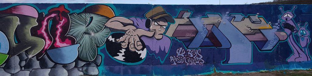 Wall of Fame (graffitimuur). 2020